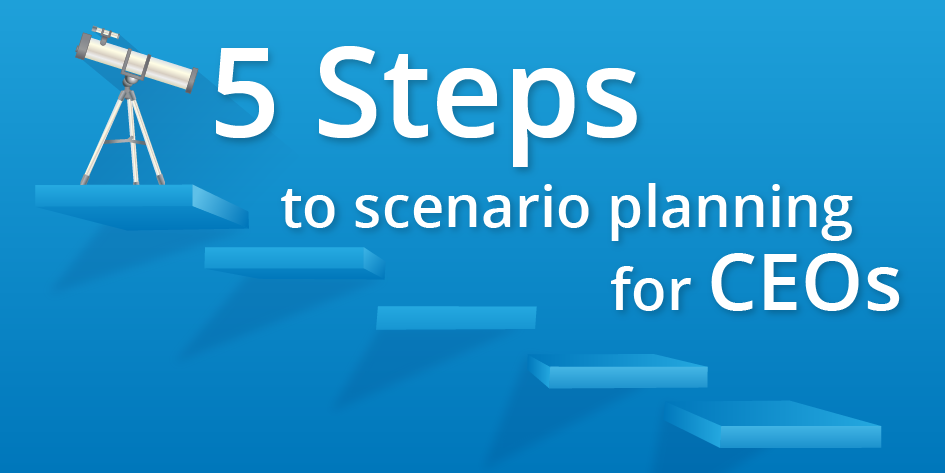 5 Steps to Scenario Planning for CEOs Blog Header