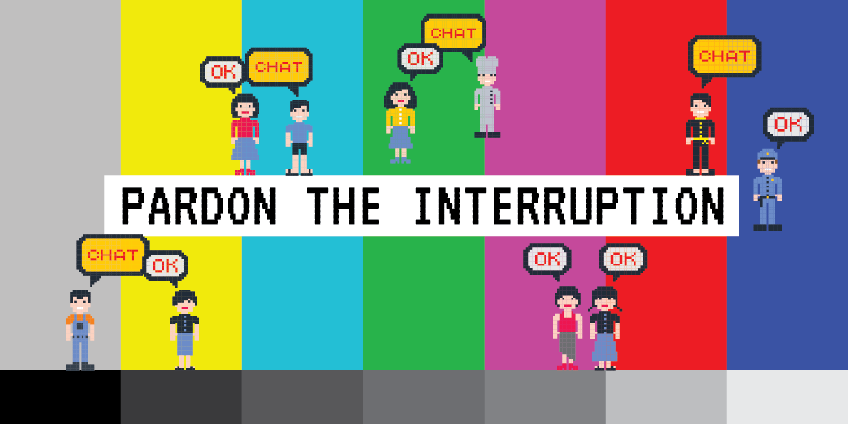 Pardon the Interuption blog banner